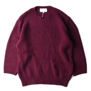 "GAKURO Crewneck Sweater ""Purple"""