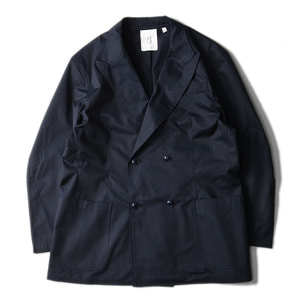 "BROWNYARD Double Breasted Jacket ""Navy"""