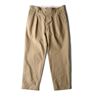 "EASTLOGUE Crop Pants ""Beige"""
