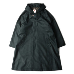 "KAPTAIN SUNSHINE Fooded Coat ""Green"""