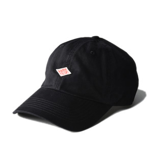 "DANTON #JD-7144 Cotton Twill Cap ""Black"""