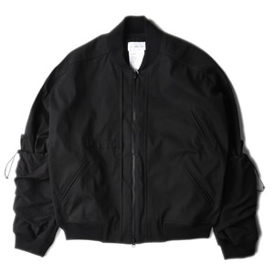 "POST ARCHIVE FACTION Arm Covered Blouson ""Black"""