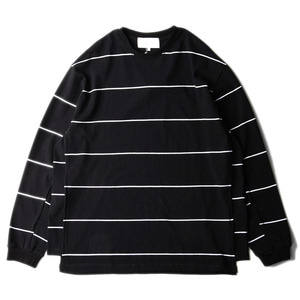 "GAKURO Oversized L/S T-Shirt ""Black Stripe"""