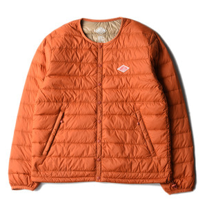 "DANTON #JD-8751 Nylon Taffeta Down Jacket ""Persimmon"""