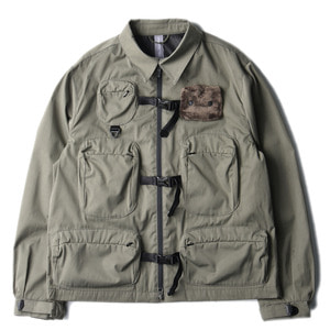 "UNAFFECTED Utility Fisherman Jumper ""Sage Green"""