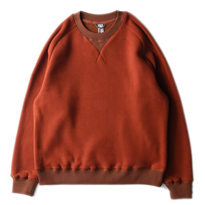 "UNAFFECTED Sweat Shirt ""Amber Orange Fleece"""