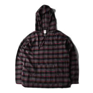"SOUTH2 WEST8 Mexican parka Cotton Twill / Plaid ""Black"""