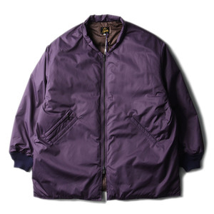 "NEEDLES Stand Collar Down Sur Coat ""Purple"""