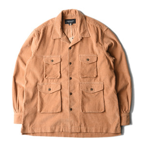 "EASTLOGUE Safari Shirt ""L.Brown"""