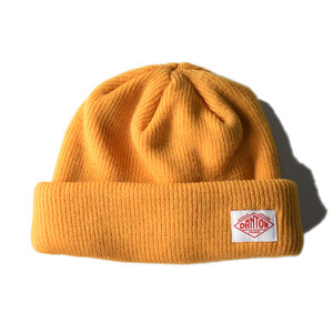 "DANTON #JD-7165 Beanie ""Yellow"""