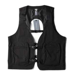 "UNAFFECTED Utility Fisherman Vest ""Black"""