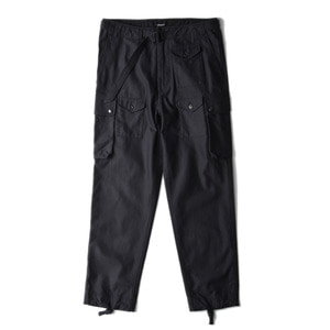 "EASTLOGUE Para Pants ""Black Backsatin"""
