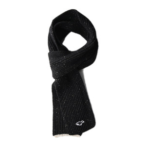 "NEITHERS 411-1 Knitted Scarf ""Black"""