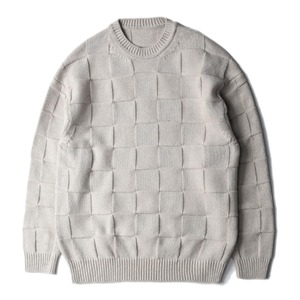 "CREPUSCULE Links Knit ""Beige"""