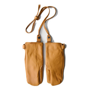 "EASTLOGUE Rifle Leather Gloves ""Tan"""