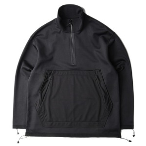 "GAKURO Half Zip Pull Over ""Black"""