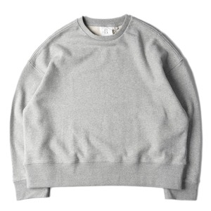 "BROWNYARD Wide Pullover ""Grey"""