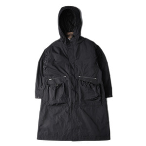 "UNAFFECTED Oversized Long Parka ""Black"""