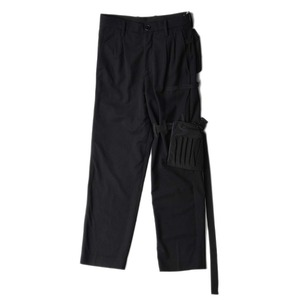 "POST ARCHIVE FACTION Utility Trouser ""Black"""