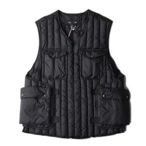 "EASTLOGUE Armour Down Vest ""Black"""