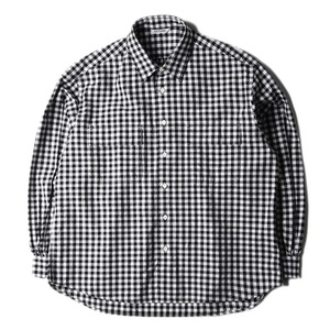 "NEITHERS 211-15 2-Pocket Wide Shirt ""Black/White"""