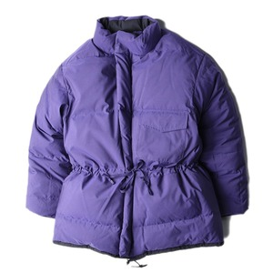 "KAPTAIN SUNSHINE Expedition Reversible Down Parka ""Navy x Purple"""