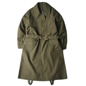 "EASTLOGUE Dispatch Rider Coat ""2 Face Olive"""