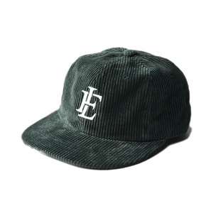 "LIFUL 8 Wale Corduroy Cap ""Forest"""