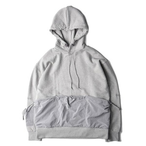 "POST ARCHIVE FACTION Multi Pocket Hoodie ""Grey"""