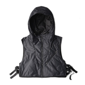 "UNAFFECTED Utility Layerd Vest ""Charcoal"""