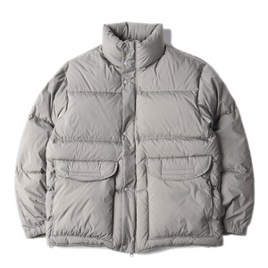 "BROWNYARD Utility Goose Down ""Grey"""