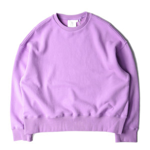 "VASKA x BROWNYARD Wide Sweat ""Lavender"""