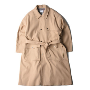 "KIIT C/P W Cloth Trench Coat ""Beige"""