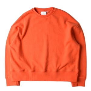 "BROWNYARD Wide Pullover ""Orange"""