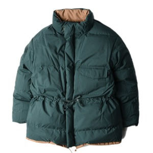 "KAPTAIN SUNSHINE Expedition Reversible Down Parka ""Khaki x Green"""