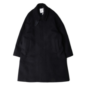 "[11/15 발송] BROWNYARD Balmacaan Coat ""Navy"""