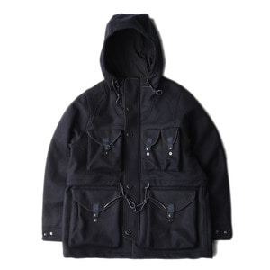 "EASTLOGUE Smog Parka ""Navy Melton"""