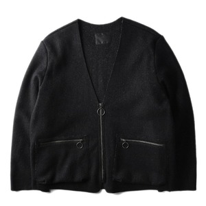 "BUKHT Milling Wool Jacket ""Black"""