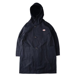"DANTON #JD-8849 Unisex Oversize Hooded Coat ""Navy"""