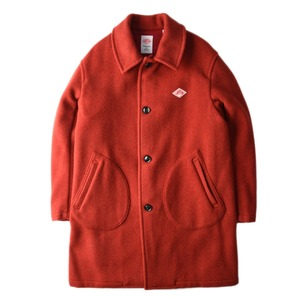 "DANTON #JD-8906 Wool Mossa Single Coat ""Brick"""