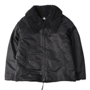 "RANDT Nylon Flight Sateen B-3 Jacket ""Black"""
