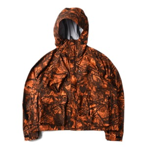 "SOUTH2 WEST8 River Trek Water Proof Jacket ""Orange Real Tree"""