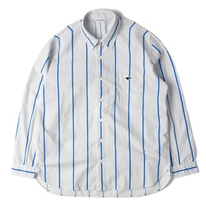 "NEITHERS 209-10 Comfort Shirt ""Blue&White"""