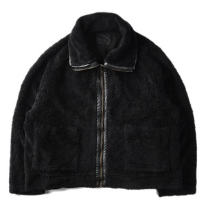 "BUKHT Boa Blouson Organic Cotton ""Black"""