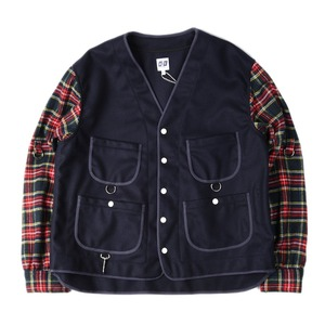 "AIE 20oz Melton Wool WRD Jacket ""Navy"""