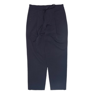"QLAD MUSEUM Pleated Tide Easy Bonded Pants ""Navy"""