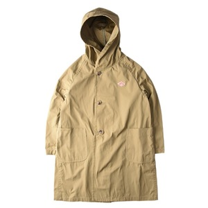 "DANTON #JD-8849 Unisex Oversize Hooded Coat ""Lt.Olive"""