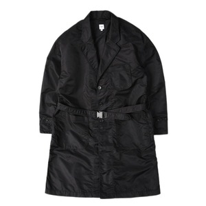 "RANDT Nylon Flight Sateen Studio Coat ""Black"""
