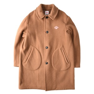 "DANTON #JD-8906 Wool Mossa Single Coat ""Camel"""