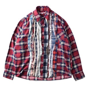 "NEEDLES Rebuild by Needles Flannel Shirt L size ""G"""